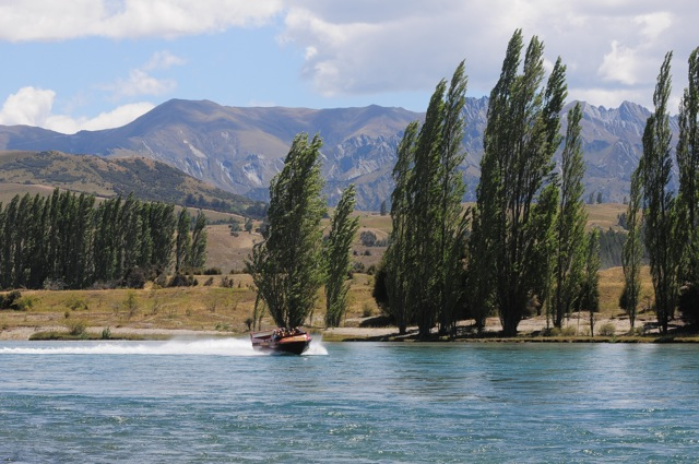 That's us on the Clutha River!
